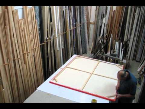 Picture Framing Auckland | El Framo Picture Framers - YouTube