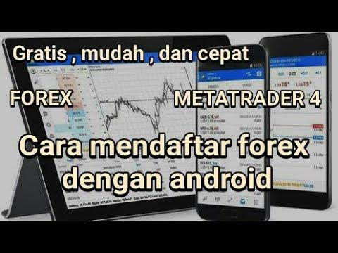 Cara Mendaftar Forex Lewat Android Youtube