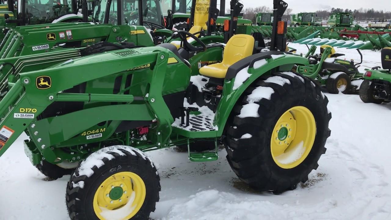 Monroe, WI: John Deere 4M Utility Tractor - YouTube