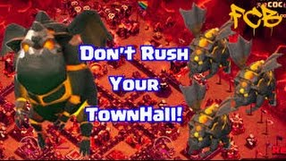 Clash of Clans | TH10 vs TH10 live war attack 3 star LaLoon ( Lava hound Balloon )