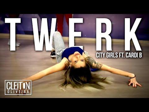Twerk - City GirlS ft Cardi B   COREOGRAFIA  Cleiton Oira  IG: CLEITONRIOSWAG
