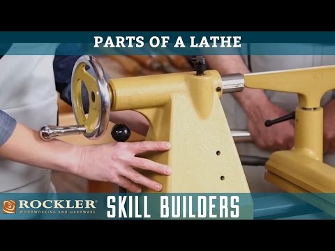 Parts of a Lathe | Rockler Skill Builders