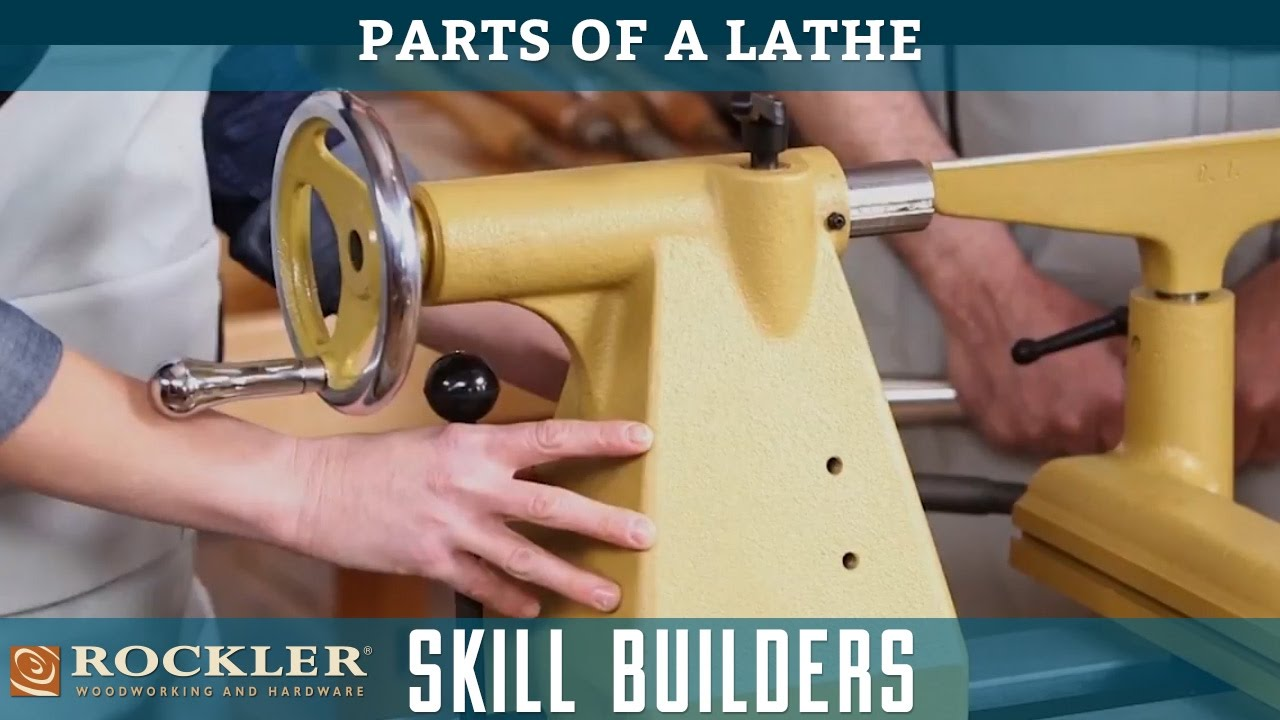 Parts Of A Lathe Rockler Skill Builders Youtube