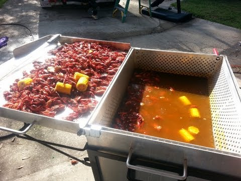 How To: Boil Louisiana Crawfish in  the King Kooker 9090 Boiler Setup