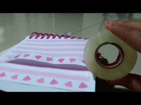 DIY paper wristband