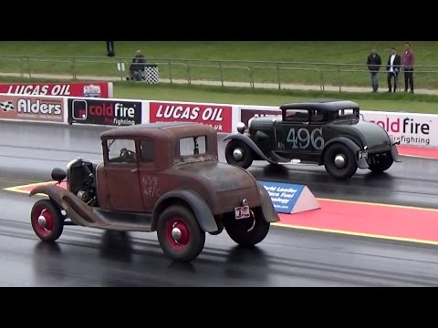 The 1st VHRA Vintage Nationals Santa Pod 29/04/2017