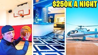OVERNIGHT Challenge In $250,000 Per Night HOTEL!