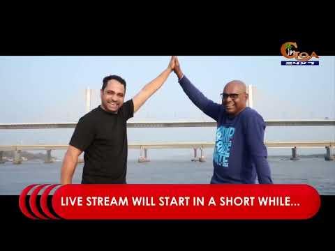 LIVE- 3rd Mandovi Bridge Inauguration