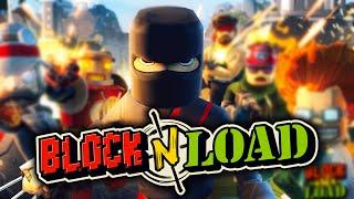 Defensive Ninja!? - Block N Load O.P. Juan Shinobi Gameplay