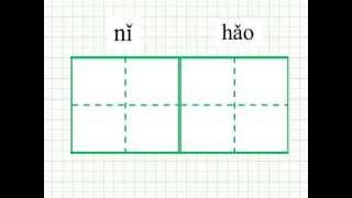 Научиться писать китайские иероглифы, привет по-китайски