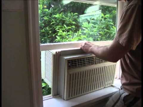 How to Install a Window A/C Unit