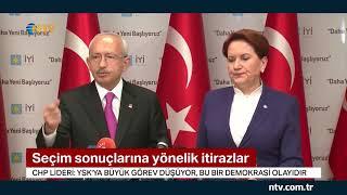 Kılıçdaroğlu ve Akşener YSK'ya çağrıda bulundu