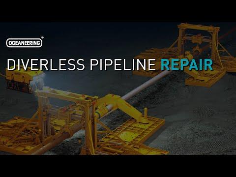Diverless Pipeline Repair | Oceaneering