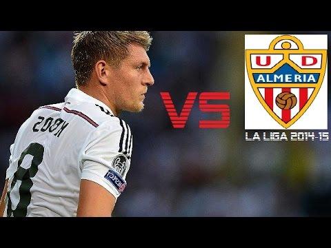 Toni Kroos vs Almeria | Almeria vs Real Madrid 1-4 | La Liga 2014/15 (A)