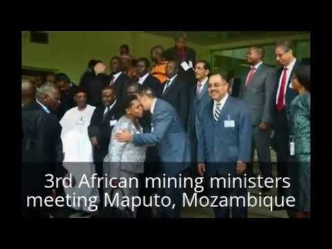 African mining ministers 3rd annual conference in Maputo, Mozambique