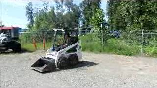 Sold! 2006 Bobcat 463 Compact Skid Steer Wheel Loader Tractor Aux bidadoo.com
