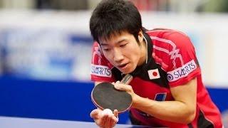 Jun Mizutani - Japanese table tennis player (Left-handed)