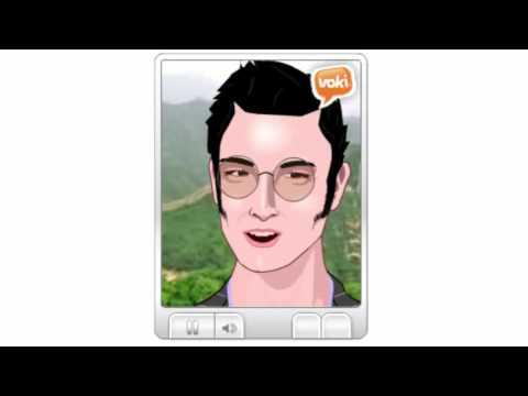 Voki - Elvis Presley zoom