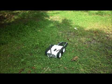 Autonomous Robot of Metal Detector use GPS (ATMega 16)
