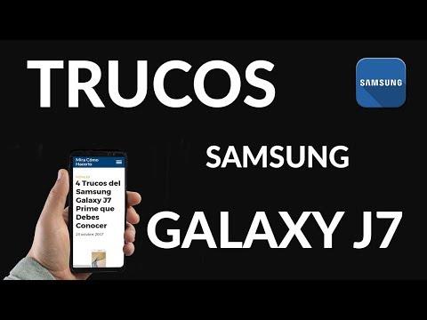 4 Trucos del Samsung Galaxy J7 Prime que Debes Conocer