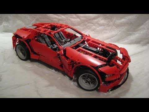 m4x 39 s creations building lego technic 8070 super car youtube. Black Bedroom Furniture Sets. Home Design Ideas