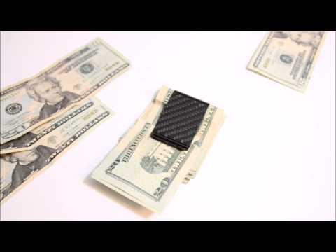 Z18 Carbon Fiber Money Clip