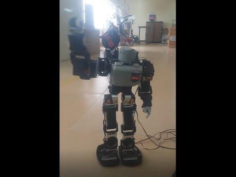 NPIC ROBOT | Humanoid Robot | Cambodia Technology | Robocon Khmer