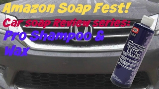 amazon soap fest review of pro c 48 p shampoo and wax car wash