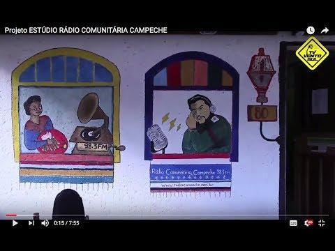 Projeto ESTÚDIO RÁDIO COMUNITÁRIA CAMPECHE