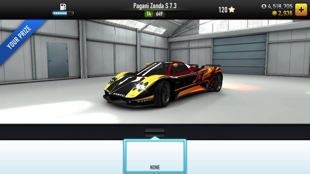 CSR Racing: Pagani Zonda S Test Drive - YouTube
