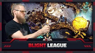 [PATH OF EXILE] – 3.8 – BLIGHT LEAGUE – LIVE REACTION AND PREDICTIONS