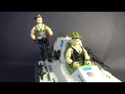 HCC788 - 1985/1986 SGT. SLAUGHTER - G. I. Joe toy review! HD