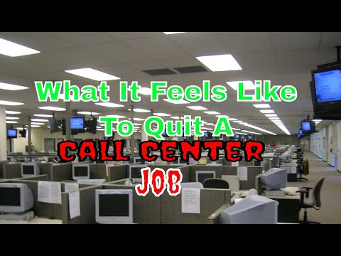 What It Feels Like To Quit A Call Center Job
