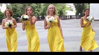 Свадьба в шатре - яркий и веселый свадебный видео клип