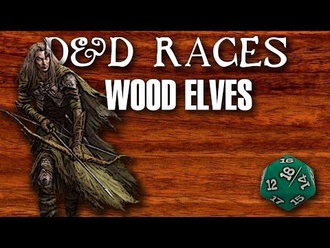 D&D Races: Wood Elves