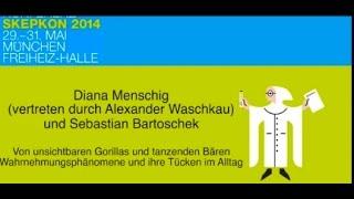 Skepkon 2014: Von unsichtbaren Gorillas und tanzenden Bären - (Bartoschek & Waschkau)