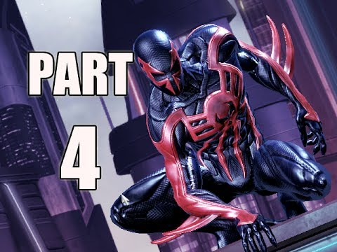 SPIDER-MAN SHATTERED DIMENSIONS - PART 4 - 2099! (Gameplay Walkthrough)