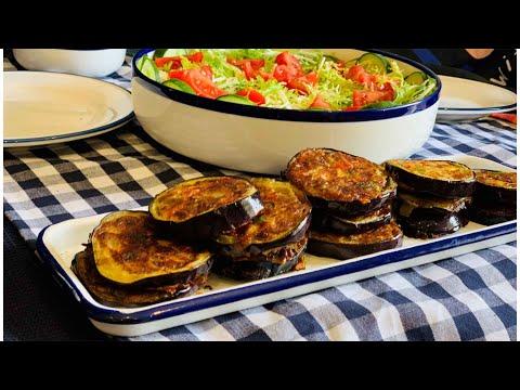 recette-pour-diner-cuit-à-la-poêle-en-10min-avec-🍆