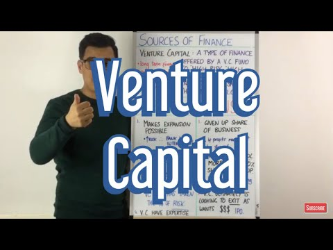 Venture Capital - Sources of Finance