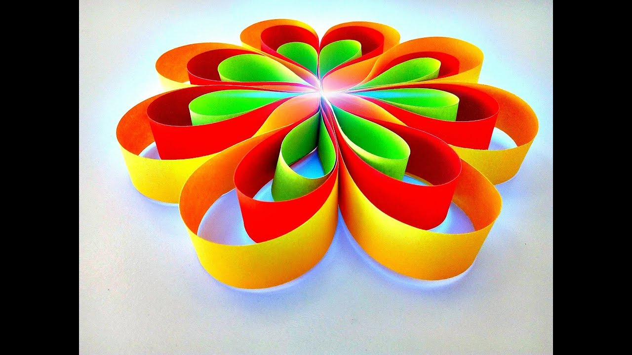 How to make a hanging paper flower for easy party decorations how to make a hanging paper flower for easy party decorations hanging decorations for beginner hd mightylinksfo
