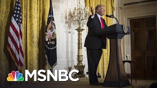 With Historic Low Numbers, President Donald Trump Keeps Fighting Media | Morning Joe | MSNBC