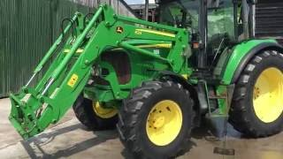 2003 john deere 6220 se with jd 633 loader