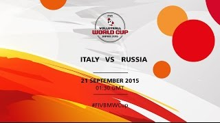 Italy v Russia - FIVB Volleyball Men