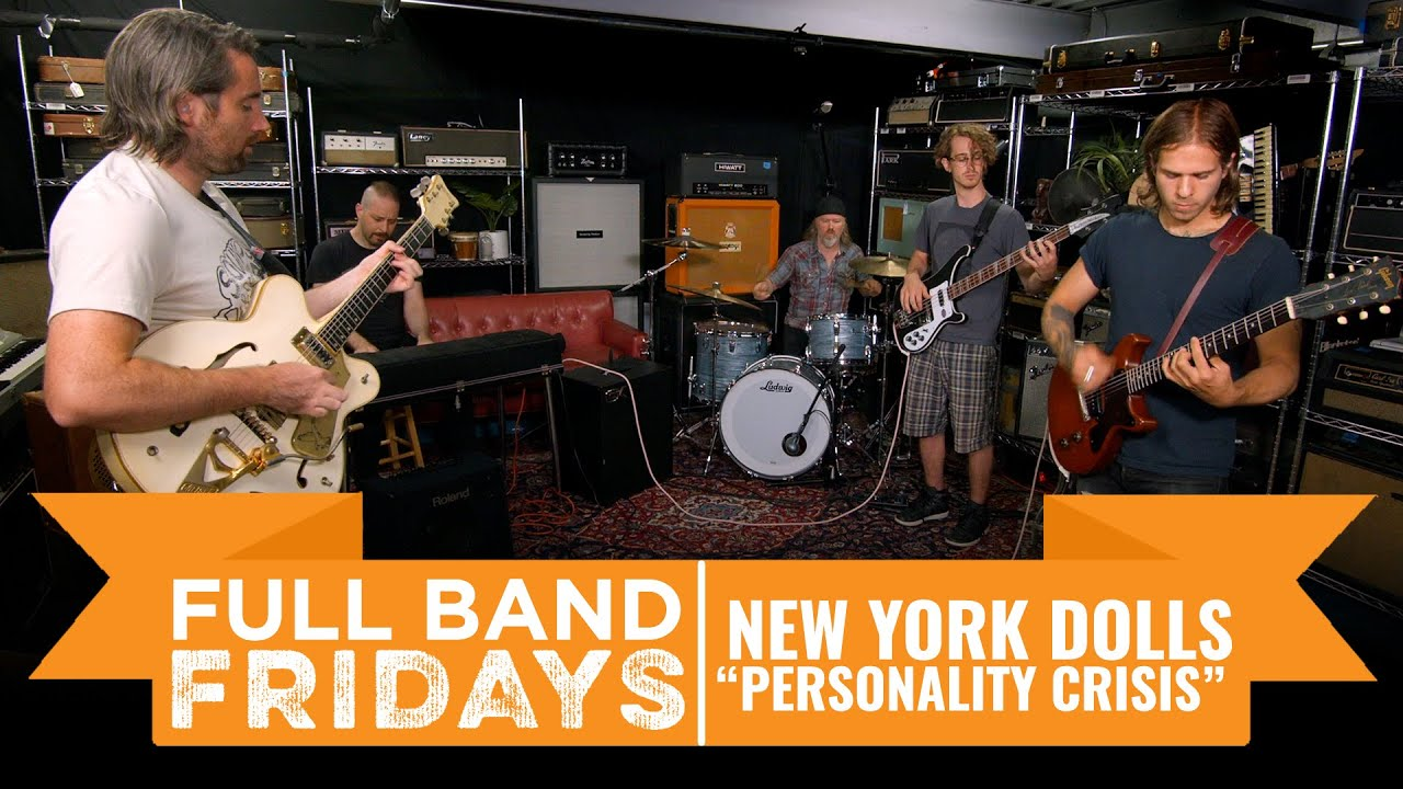 """Download """"Personality Crisis"""" New York Dolls   CME Full Band Fridays"""