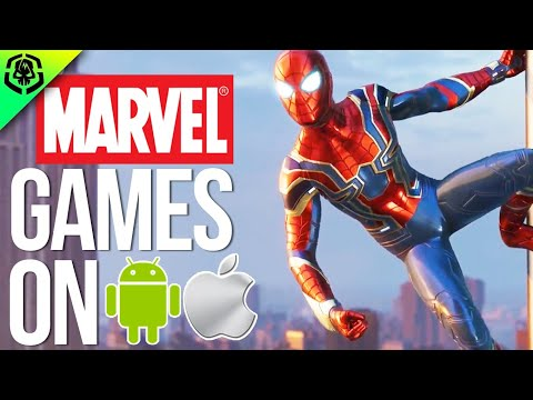 Top 10 Best MARVEL Games On Android IOS 2018!