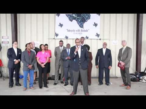 Houston City Council Member Larry Green Encourages Students at Industrial Welding Academy