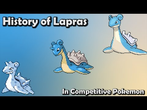 How GOOD was Lapras ACTUALLY? - History of Lapras in Competitive Pokemon (Gens 1-6)