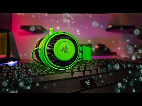 NEW Razer Kraken 2019 Headset Review And Mic Test