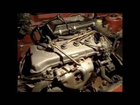 Nissan tsuru afinación - YouTube