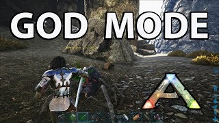 God Mode - Console Cheat Ark Survival Evolved